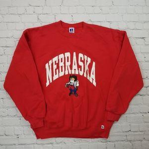 Vintage 90's NCAA Nebraska University Sweatshirt